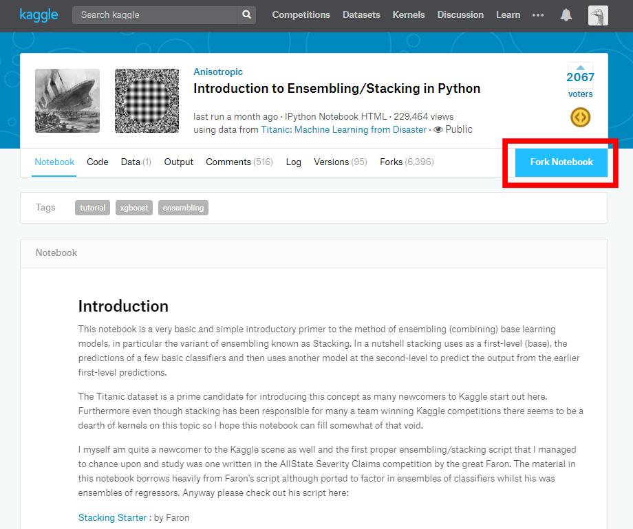 Introduction to Kaggle | Hidenobu Tokuda's Website